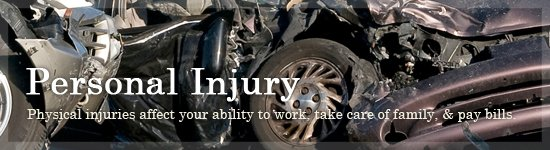 Personal Injury Lawyer in Troy MI - Car Accidents | The Lucaj Law Firm - banners_personalinjury